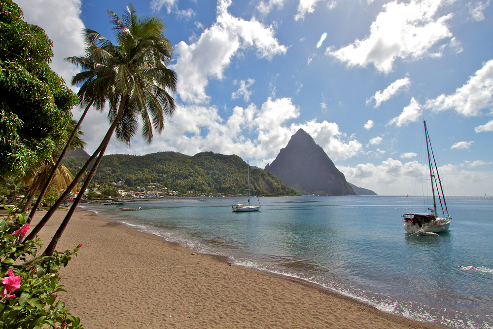 Private Beach Cruise Excursion in St. Lucia
