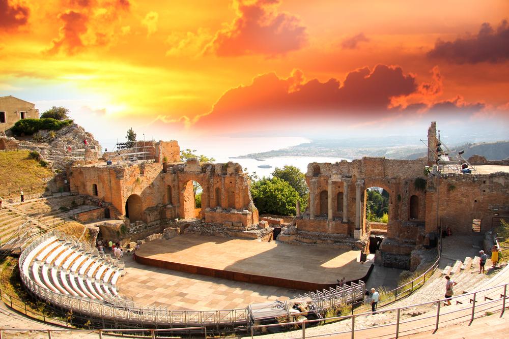 Greek Theater Cruise Excursion in Taormina, Italy