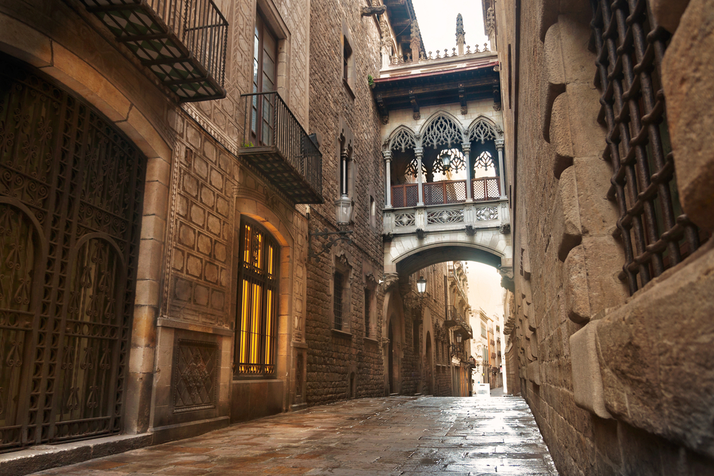 Gothic Quarter Cruise Tour in Barcelona, Spain