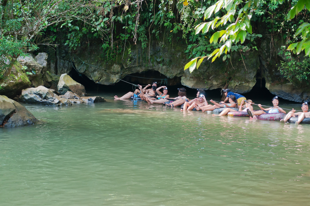 Cave Tubing Shore Excursions in Belize