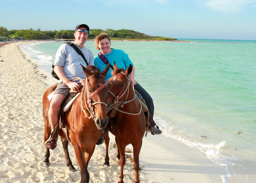 Private Horseback Ride Day Excursion in Grand Cayman