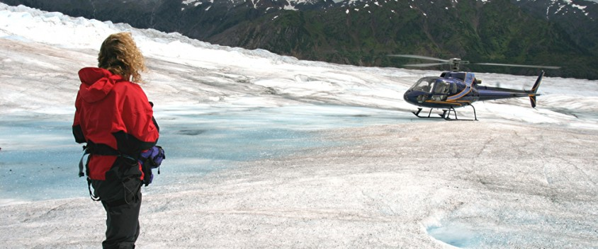 Juneau helicopter tours picture
