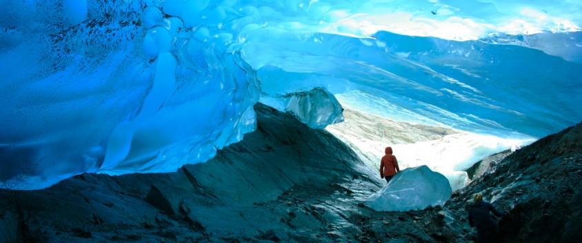 Picture taken on a Juneau glacier tour
