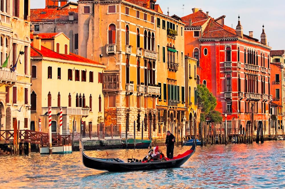 Gondola Mediterranean Excursions in Italy
