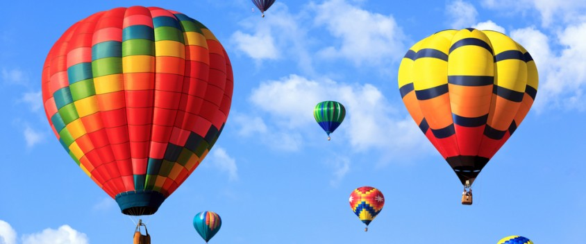hot air balloon tour photo