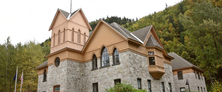 skagway city hall photo