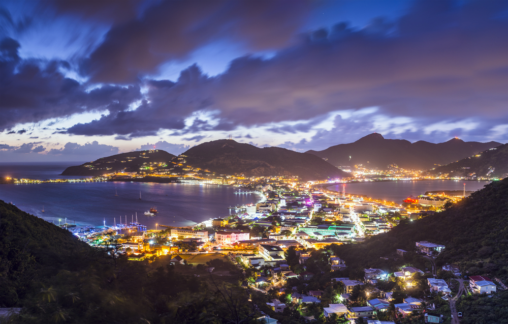St. Maarten Coastline Night Excursion