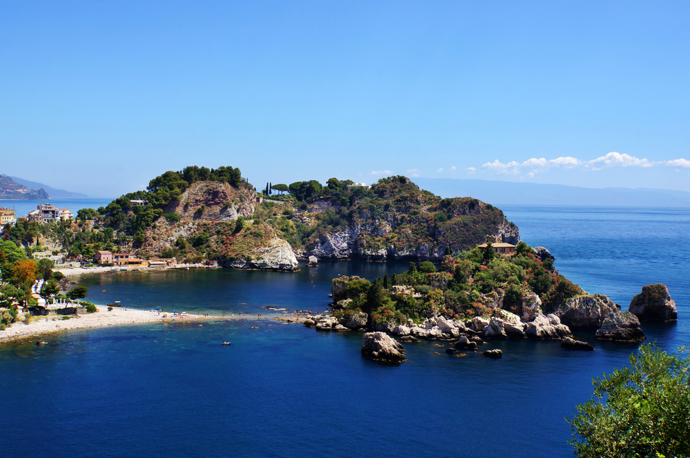 Taormina Coastline Excursion in Messina, Italy