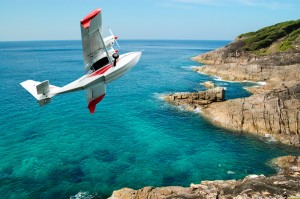Coastal View with Airplane - Shore Excursions Group