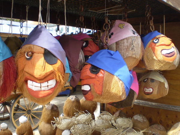 Pirate Coconut Heads in Key West, Florida - Shore Excursions Group