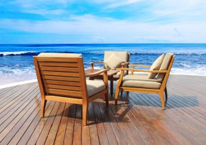 Lounging Deck on the Beach in the Caribbean - Shore Excursions Group