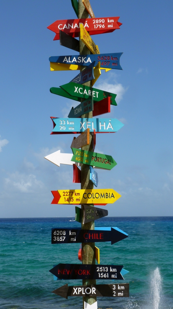 Caribbean Destination Signs - Shore Excursions Group