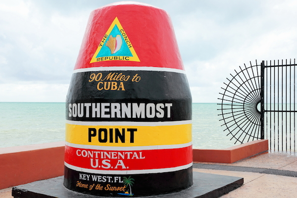 Southern Point in Key West, Florida