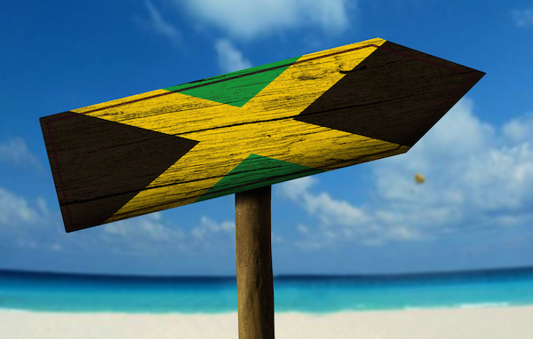 Wooden Jamaica Flag Sign - Shore Excursions Group