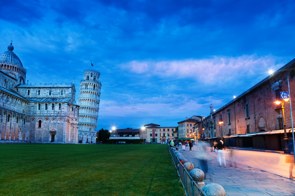 Leaning Tower of Pisa Cruise Tour at Sunset in Pisa Italy