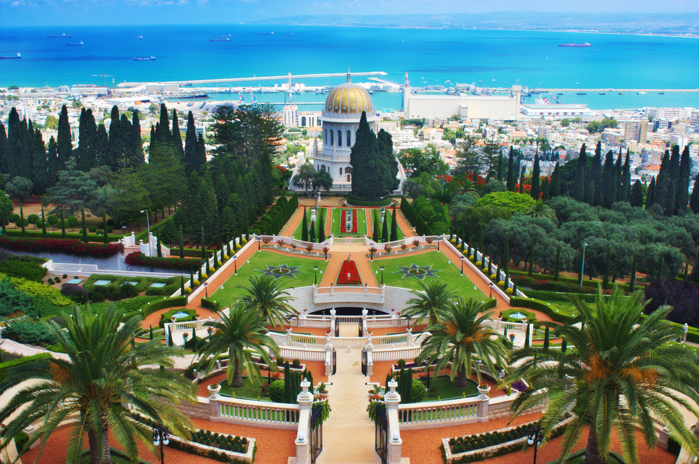 Beautiful View of Haifa, Isreal - Shore Excursions Group