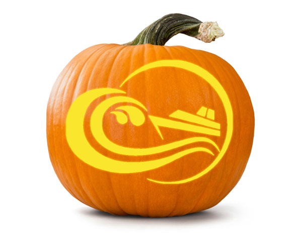 Cruise themed halloween pumpkin carving patterns