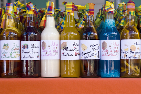 Caribbean Rum Liquor Souvenirs from a Shore Excursion