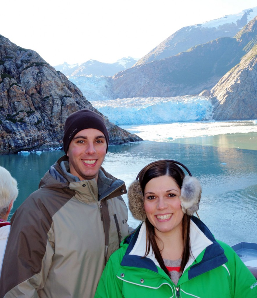 Glacier Selfie Alaska Cruise Excursion Picture