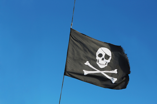 Pirate Flag Swag from a Cruise Excursion