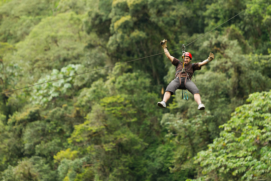 Zipline Cruise Excursion in Costa Rica