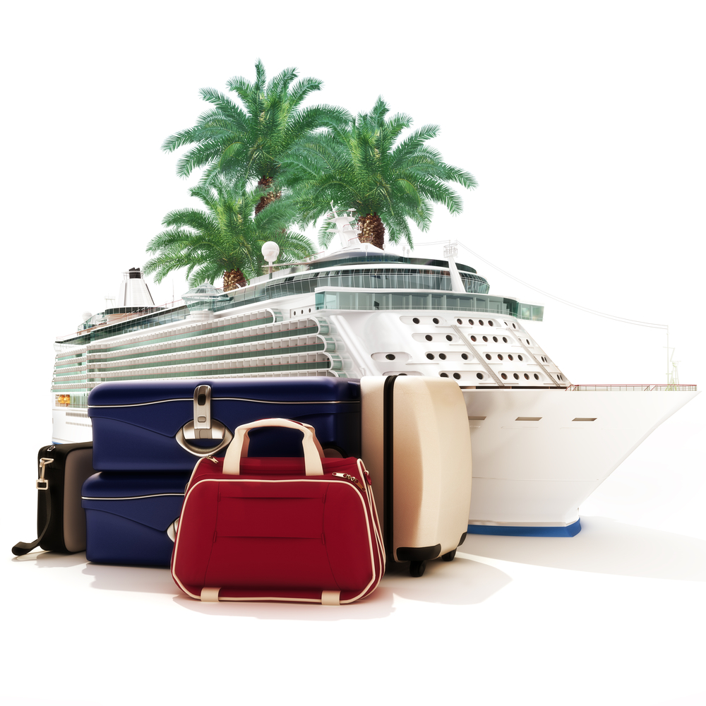 Luggage to pack for a Caribbean Cruise Excursion