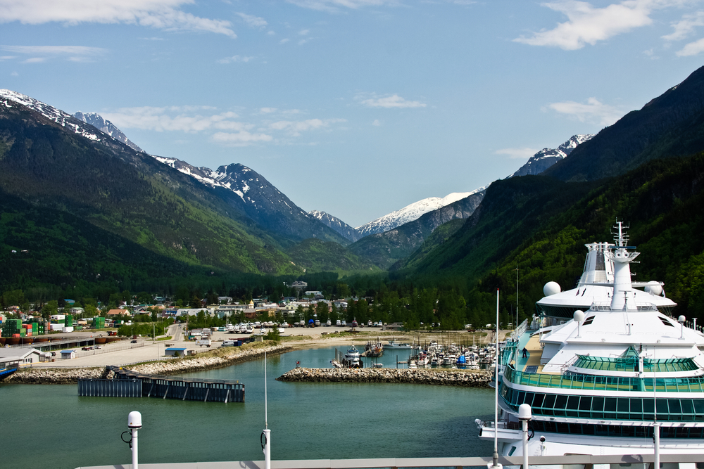 Port in Skagway, Alaska - Shore Excursions Group
