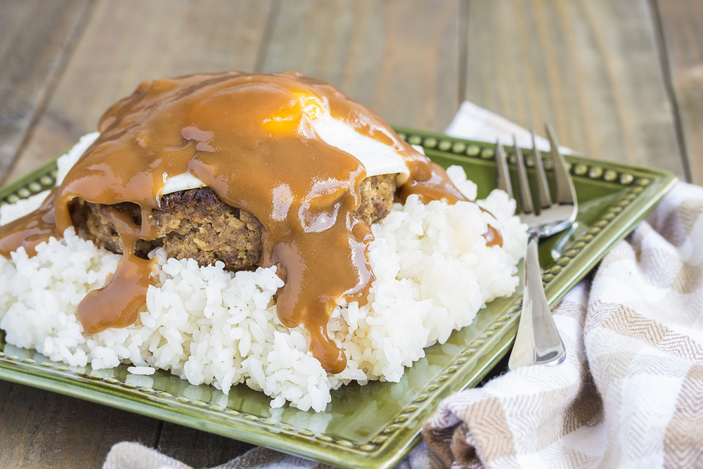 Loco Moco from Honolulu's Rainbow Drive-In - Shore Excursions Group