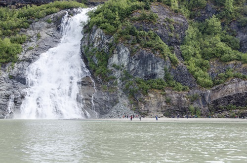 Nugget Falls Day Tour at Mendenhall Glacier in Juneau, Alaska