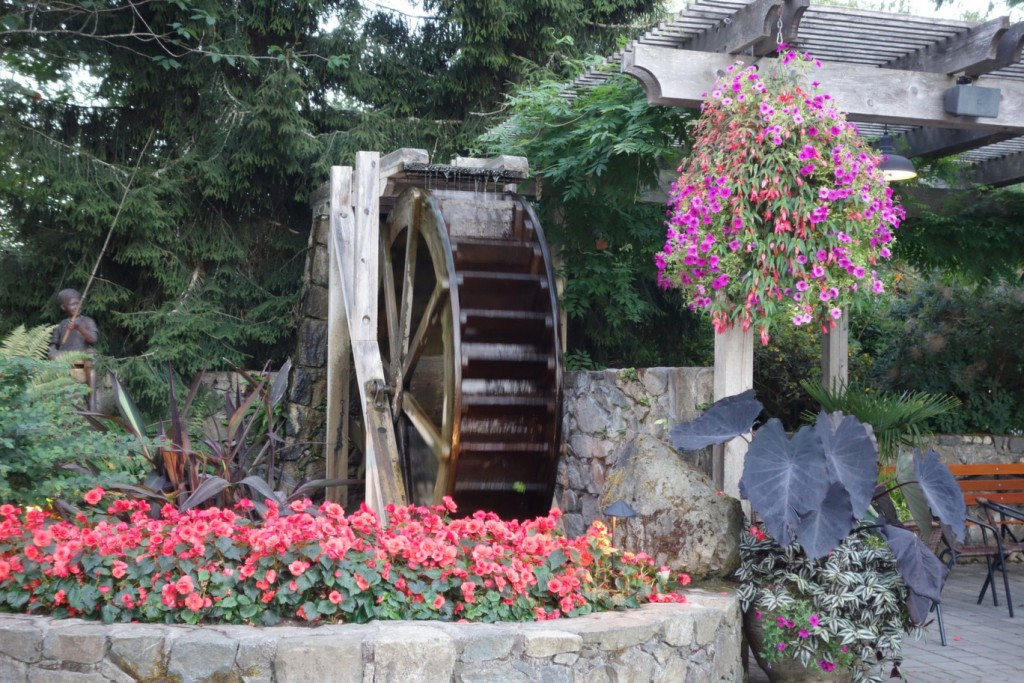 Water Wheel at Butchart Gardens Cruise Excursion in Victoria, BC