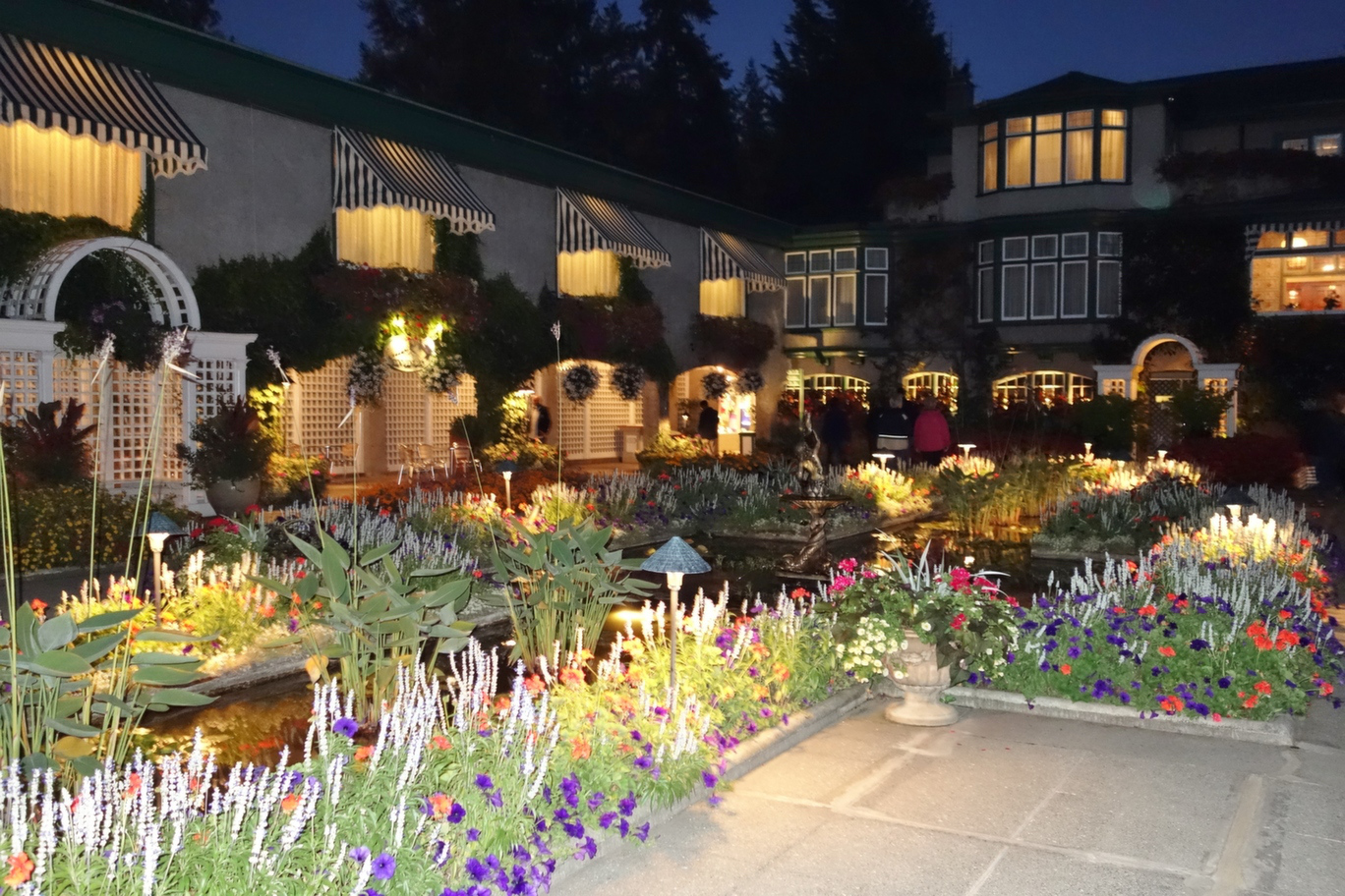 Butchart Gardens: Beyond the Port in Victoria, British Columbia ...