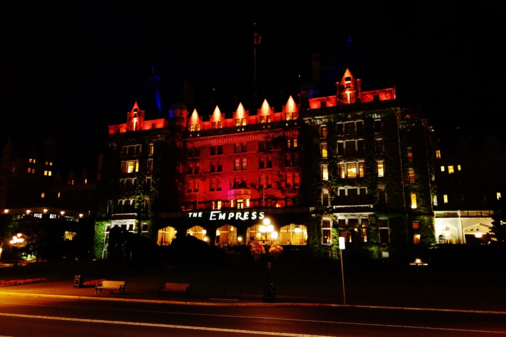 Fairmont Empress Hotel Cruise Excursion in Victoria, BC